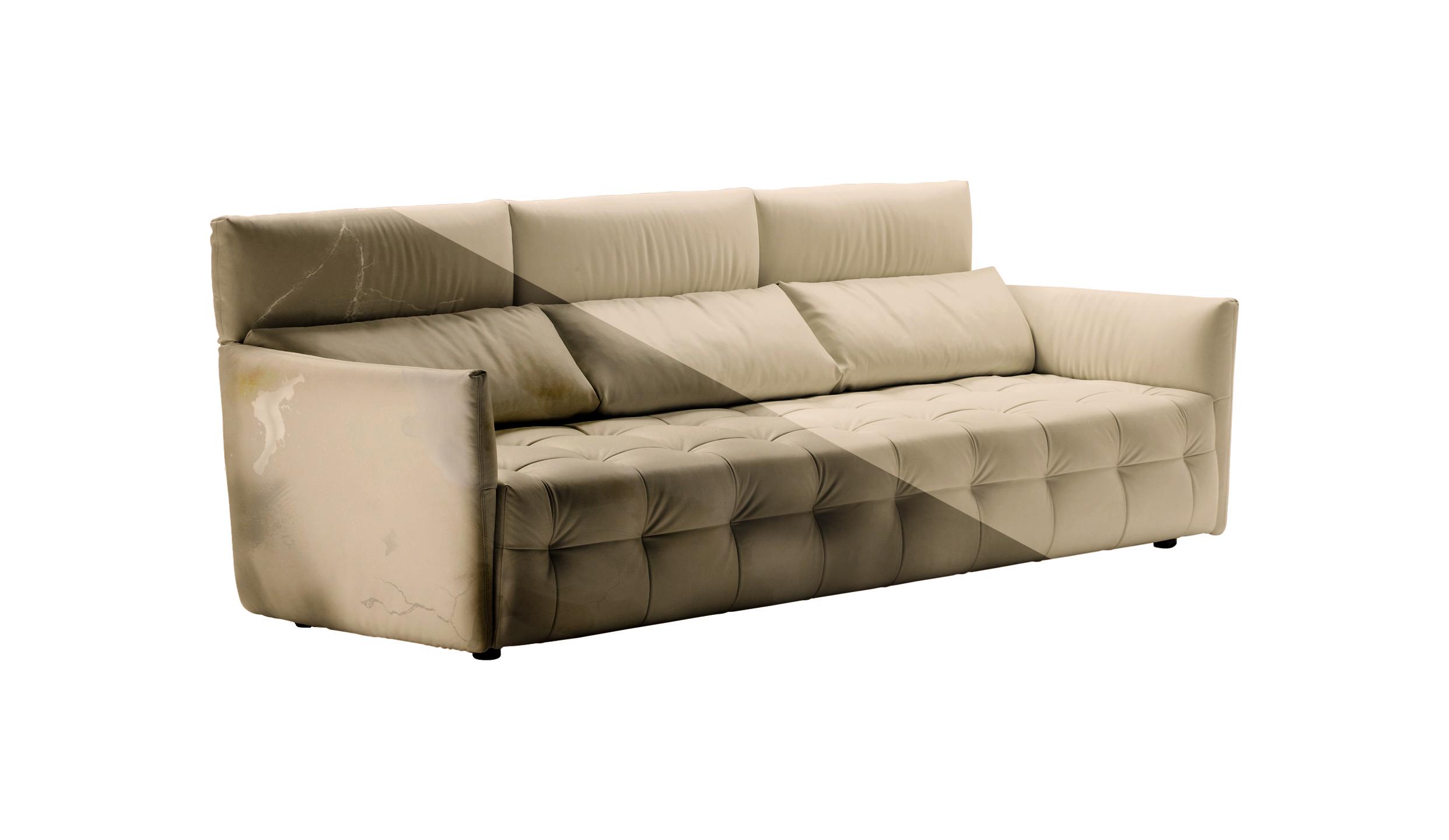 Divani stoffa pulizia il miglior design di ispirazione e - Pulire divano microfibra ...